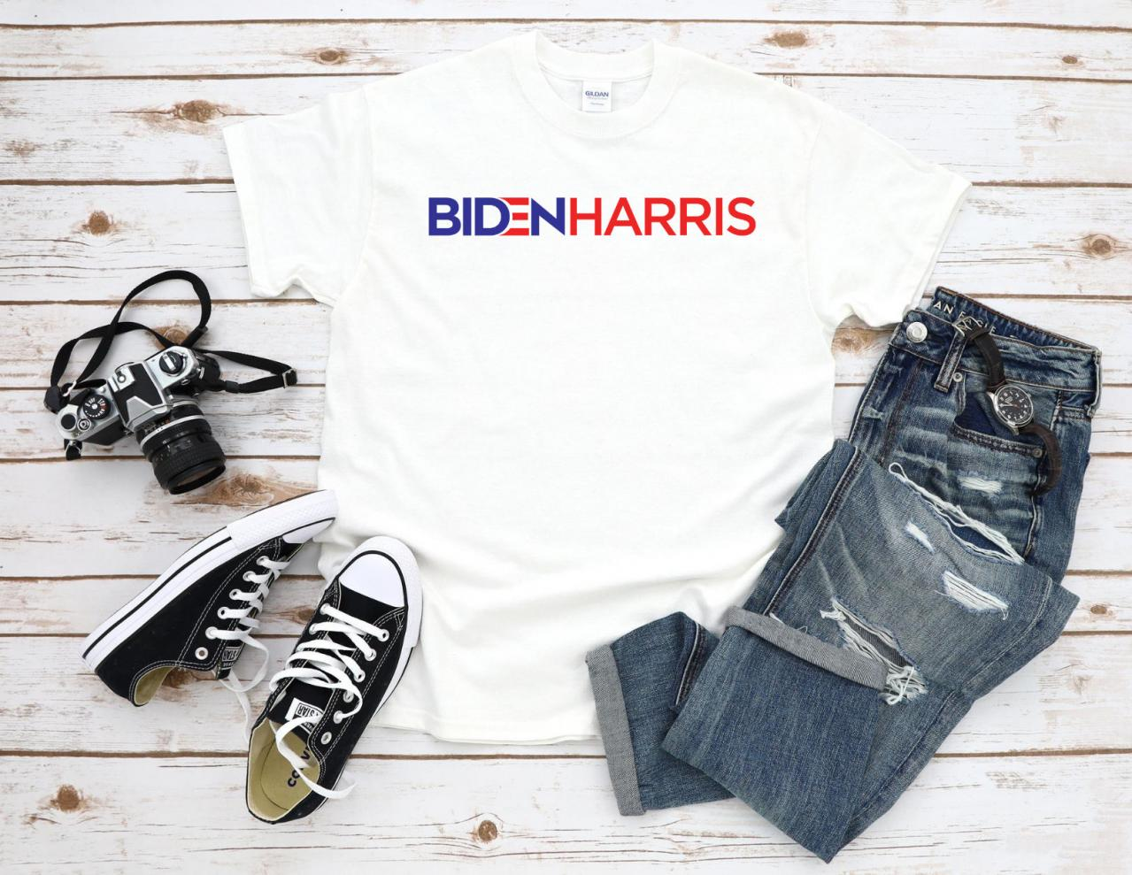 Biden Harris Shirt, 2020 Presidential Election Tshirt, Democratic Party Tee, Adult Unisex Clothing