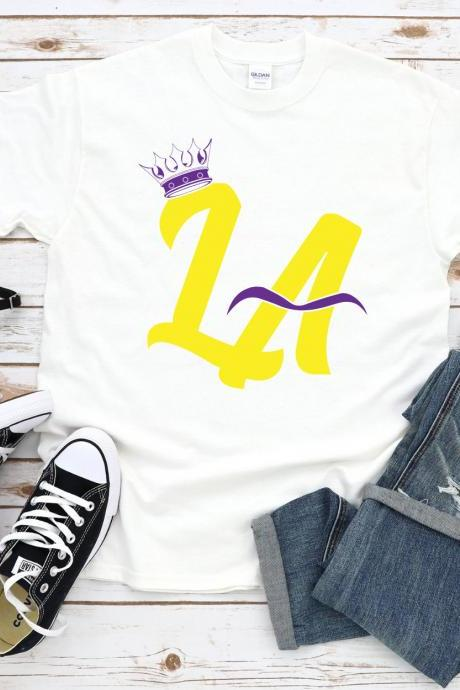 Lebron James and Anthony Davis Shirt, Bron and AD, Bron and Brow, King and Brow, Los Angeles Lakers Inspired Tshirt, LA