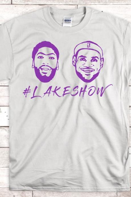 Anthony Davis and Lebron James Shirt - AD and LBJ Shirt - Lakers Shirt - Lakeshow Shirt - Anthony Davis Shirt - Lakers Shirt